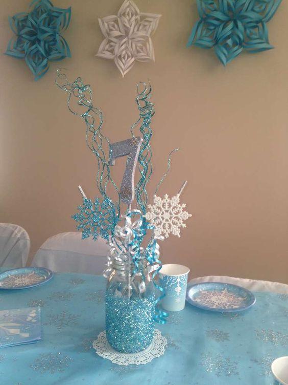 adornos de frozen para fiestas