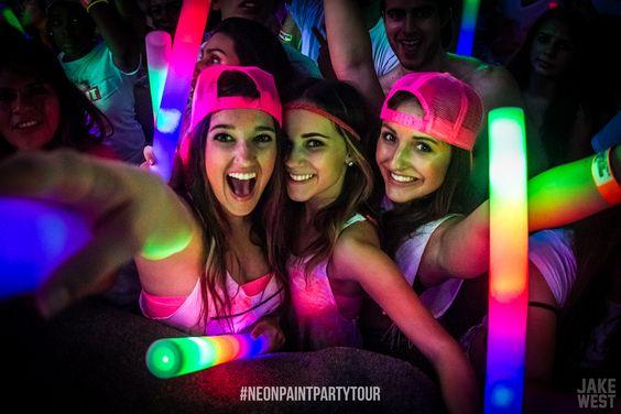 barras neon para fiestas