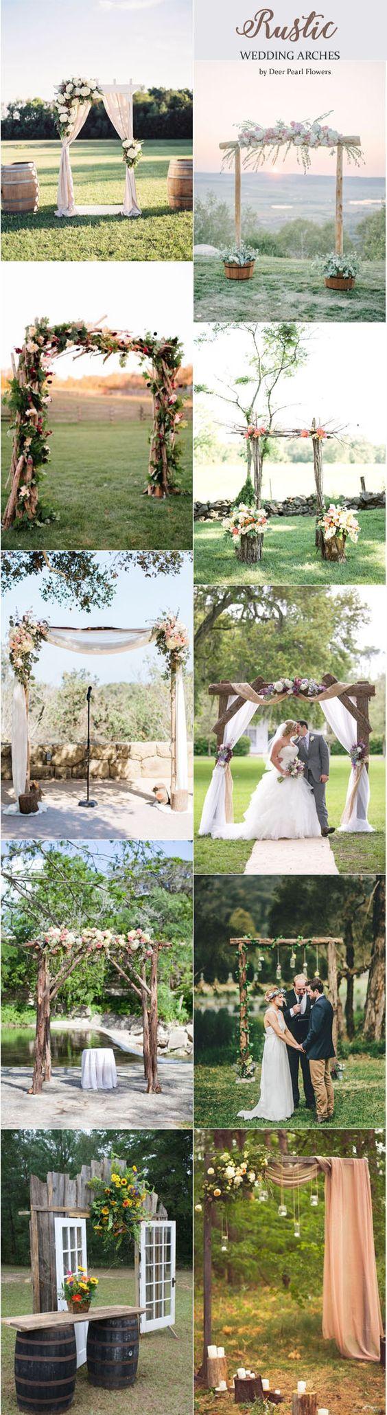 boda civil al aire libre