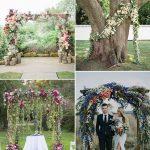 boda civil en jardin