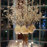 centro de mesa para boda civil
