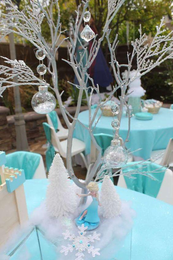 centros de mesa de frozen elegantes 2