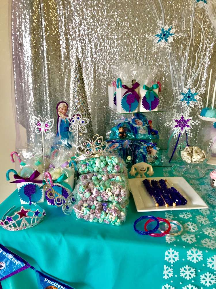Fiesta tem tica de frozen con la mejor decoraci n e ideas for Decoracion e ideas
