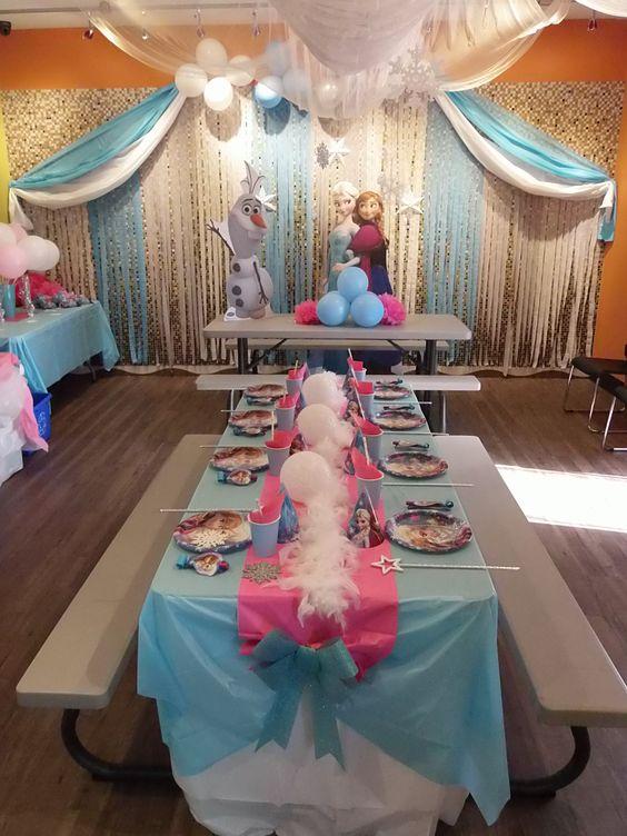 como organizar una fiesta cumpleanos de frozen 2
