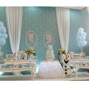 cumpleanos de nina decoracion frozen 2