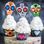 cupcake personalizado para fiesta infantil coco disney