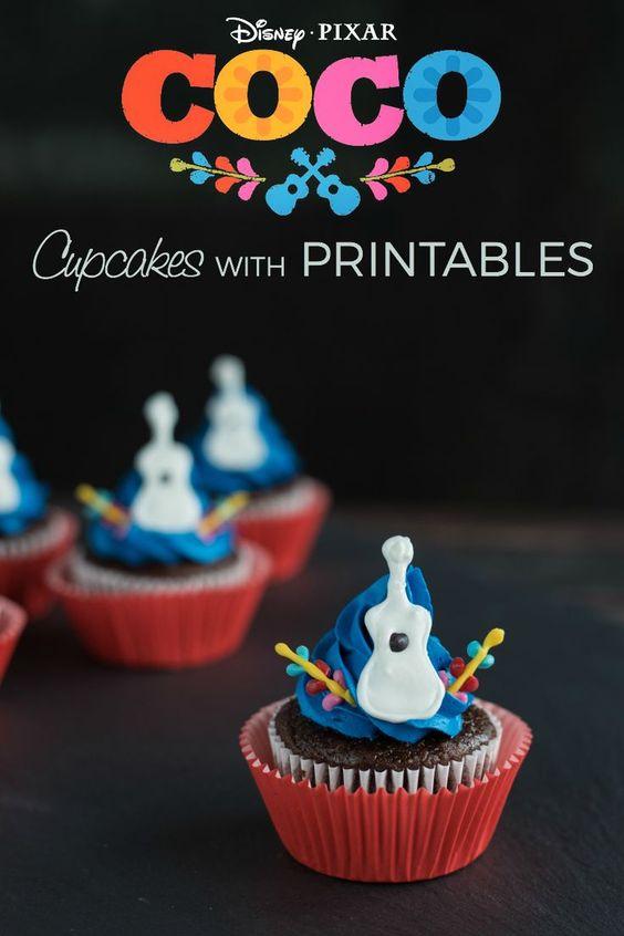 Cupcakes personalizados para fiesta infantil
