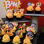 cupcakes de super heroes