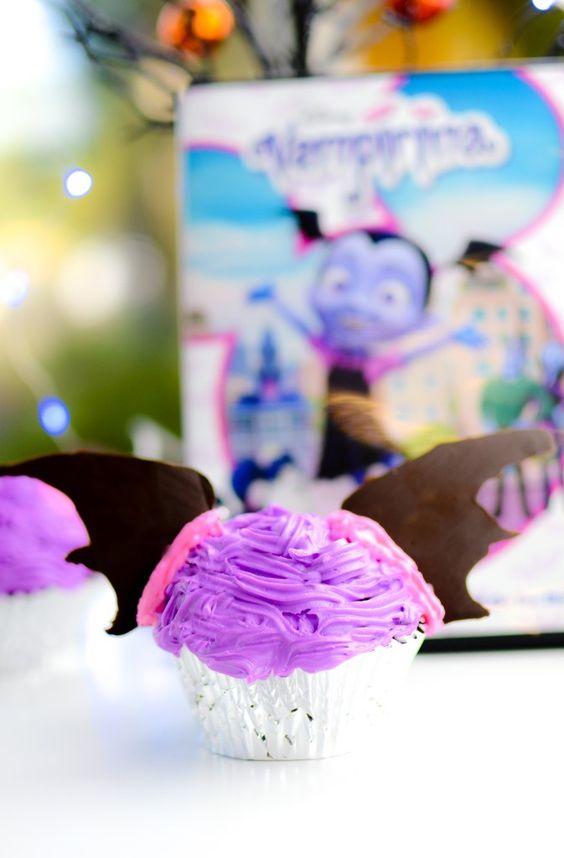 Cupcakes de vampirina