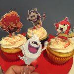 cupcakes personalizados yo kai watch