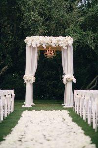 decoracion blanca para bodas