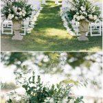 decoracion con flores para boda civil