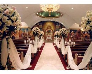 decoracion con rosas para boda