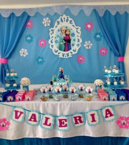 decoracion de frozen sencilla