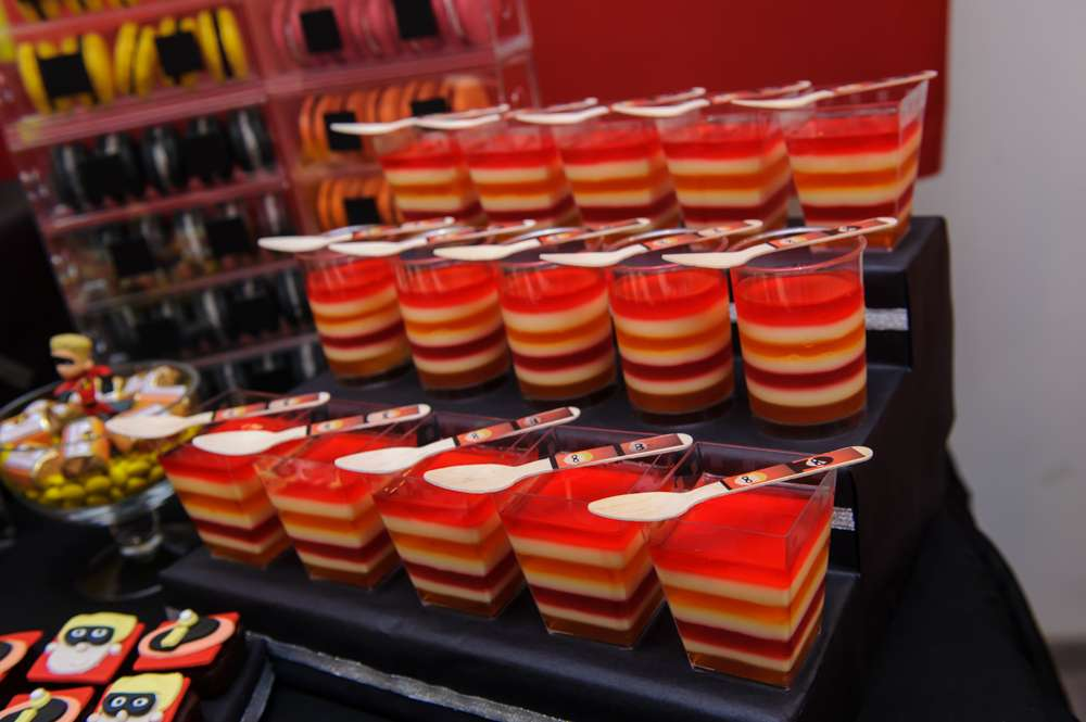 decoracion de los increibles mesa de dulces (2)