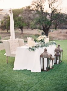 decoracion de mesa para boda civil