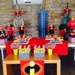 decoracion fiesta infantil de los increibles (2)