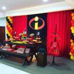 decoracion fiesta infantil de los increibles (3)