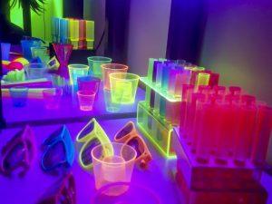 decoracion neon para eventos