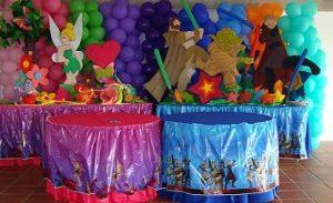 decoracion para fiesta de gemelos