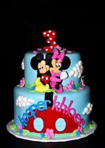 diseño de pastel para gemelos