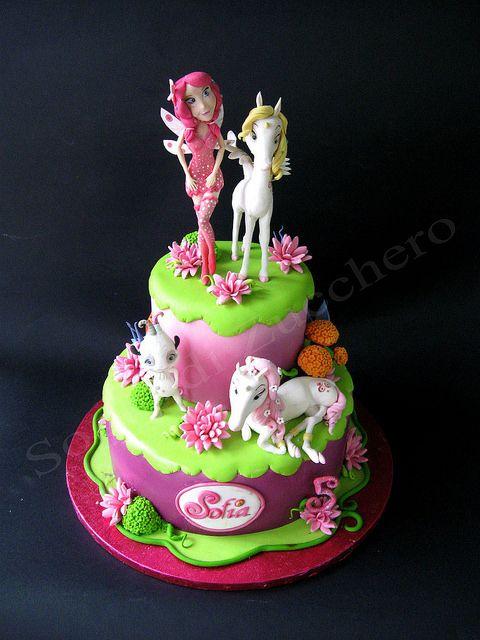 diseno de torta mia and me