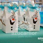 dulceros para fiesta de nina tema frozen