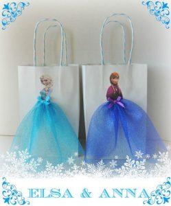 dulceros para fiesta de nina tema frozen 2