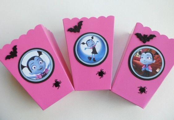 dulceros personalizados de vampirina