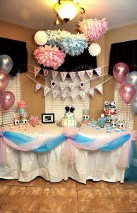 fiesta de cumpleaños de gemelos