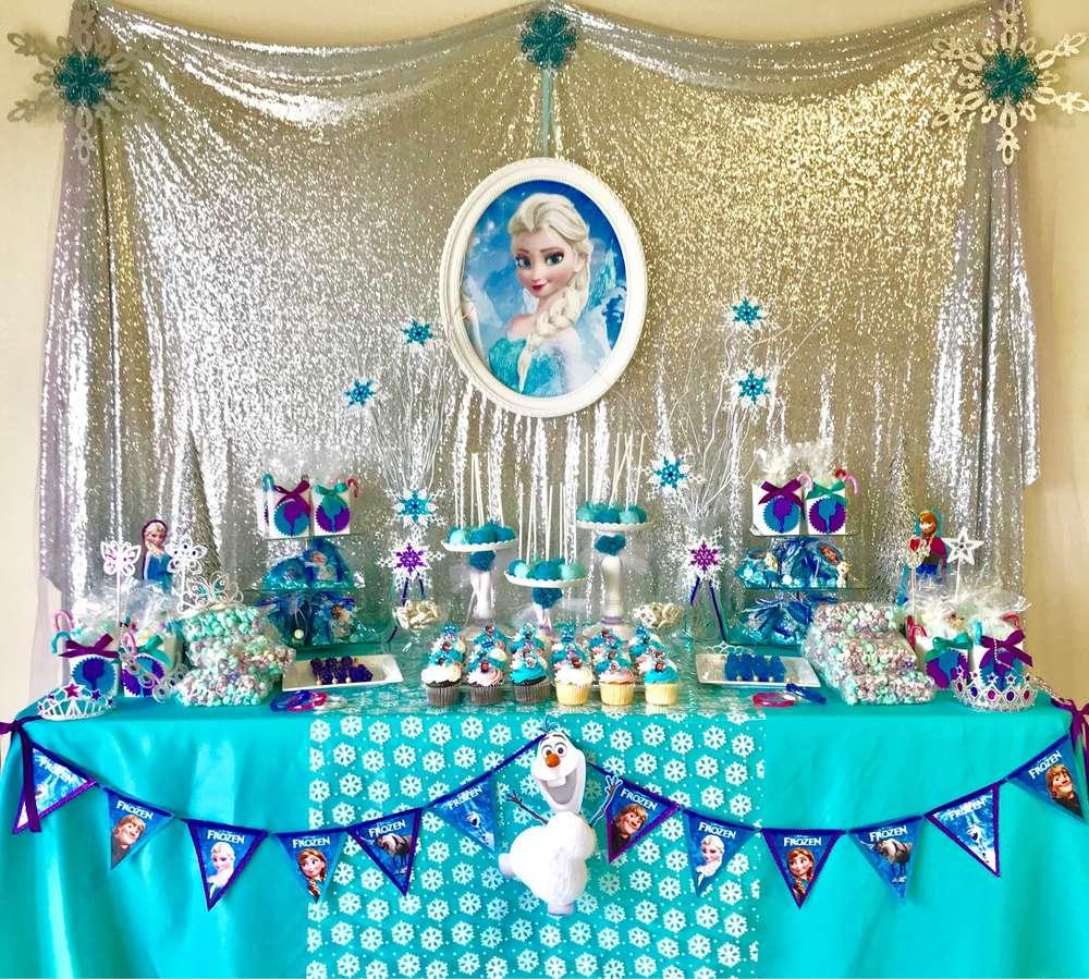 fiesta de frozen para nina 2
