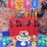 fiesta tematica de coco disney 2