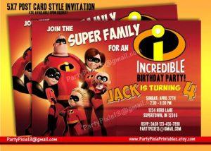 invitaciones de los increibles (2)
