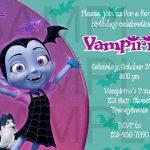 invitaciones de vampirina