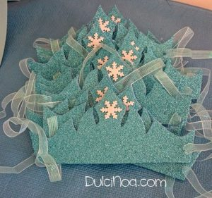 manualidades para fiesta de nina frozen 2