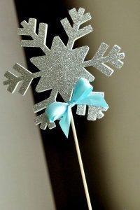 manualidades para fiesta de nina frozen