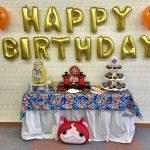 mesa de postres fiesta yo kai watch