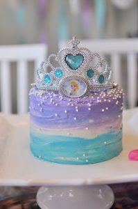 pastel de elsa frozen 3