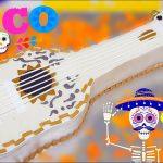 pastel de guitarra de coco disney pixar 3