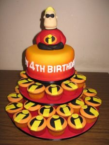 pastel los increibles fondant (3)