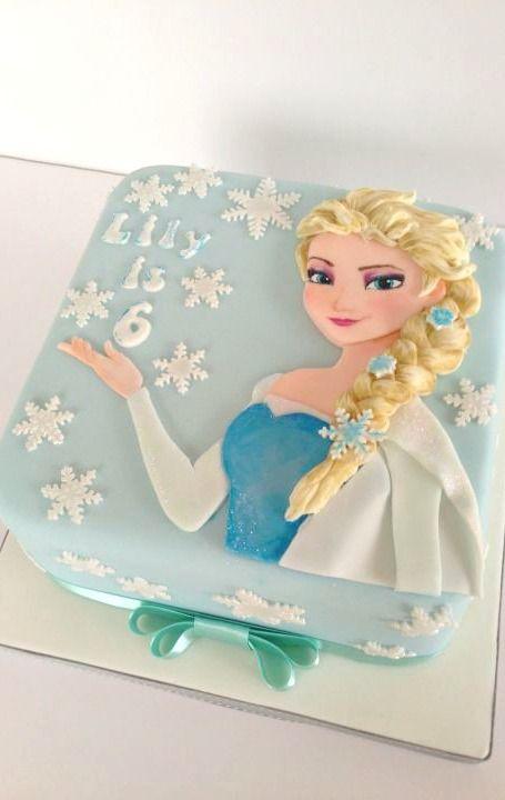 pasteles de frozen cuadrados 2