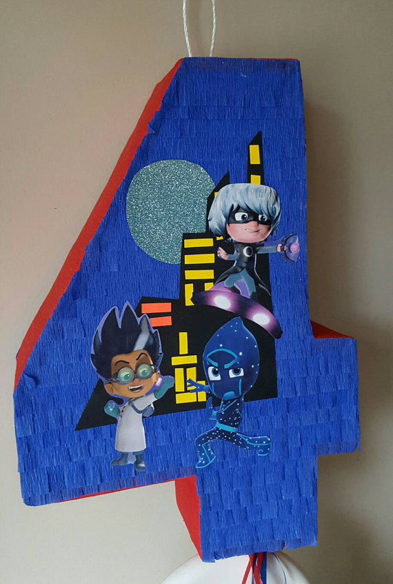 piñatas modernas infantiles PJ Mask