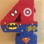 piñatas modernas de avengers