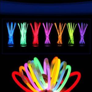 varitas neon para fiestas