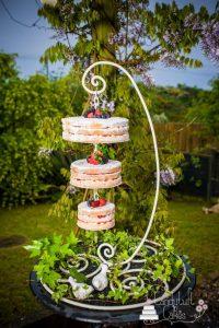 base de herreria para pastel colgante