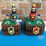 disenos de pasteles de clash royale