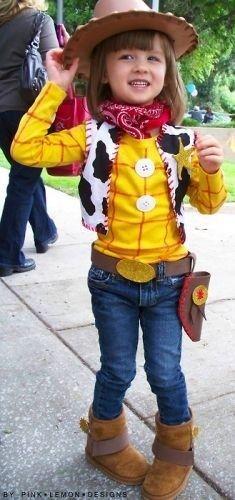 disfraz de toy story para nina