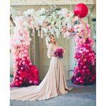 fotografias con globos y flores