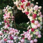 ideas para fotografias con globos y flores