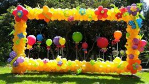 marco gigante para fiestas